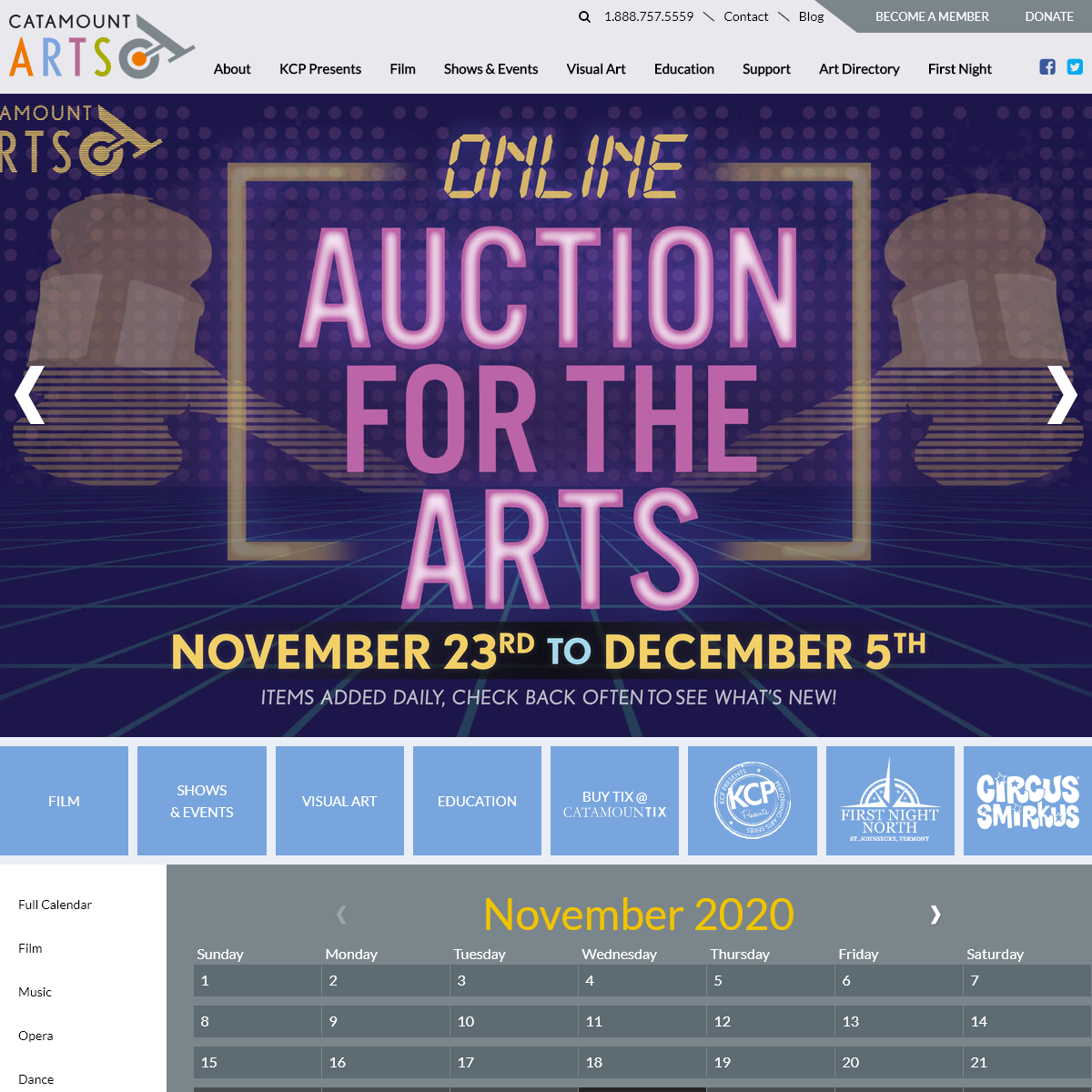 Live Shows & Performances - Theater Tickets - Arts & Films - Catamount Arts
