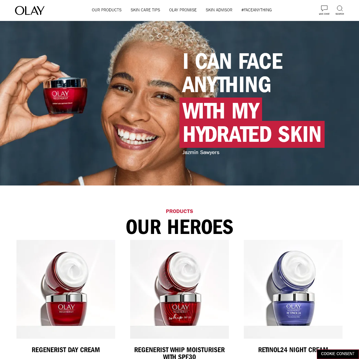 Skin Care Science & Responsible Beauty In Every Jar - Olay UK