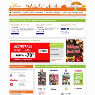 Promoalert.com - Promo et petit prix des magasins près de chez vous