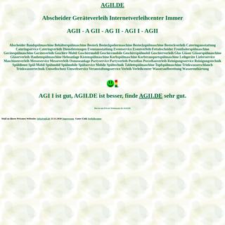 agii Abscheider Geräteverleih verleihcenter Spülmobil Verleih Geschirrmobil Mieten