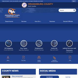 Orangeburg County, SC - Official Website