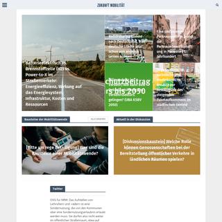 Verkehr, Transport und Mobilität neu denken – Blog über Elektromobilität, Verkehrspolitik, Hochgeschwindigkeitszüge, Elekt