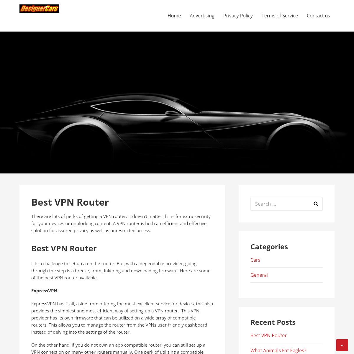 Designer Cars