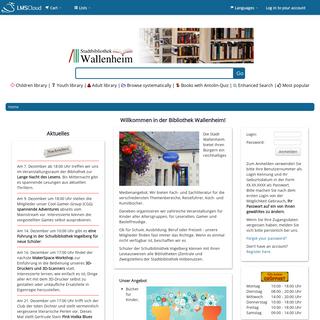 Bibliothek Wallenheim catalog