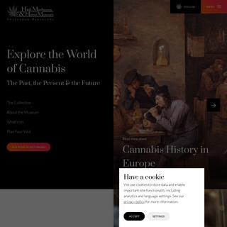Welcome to the Hash Marihuana & Hemp Museum