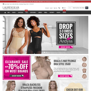 Shapewear -- Bras -- Lingerie -- Accessories And More In Regular and Plus Size