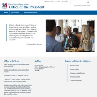 University of Massachusetts Office of the President