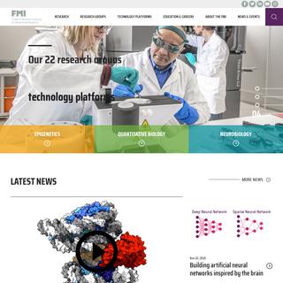 FMI - Friedrich Miescher Institute for Biomedical Research