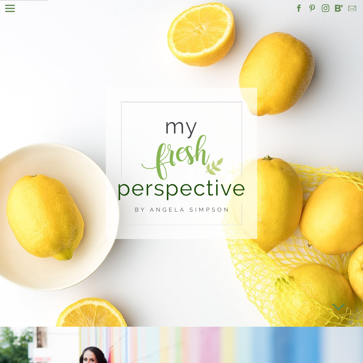 My Fresh Perspective - Nutrition, fitness, and all things holistic wellness.