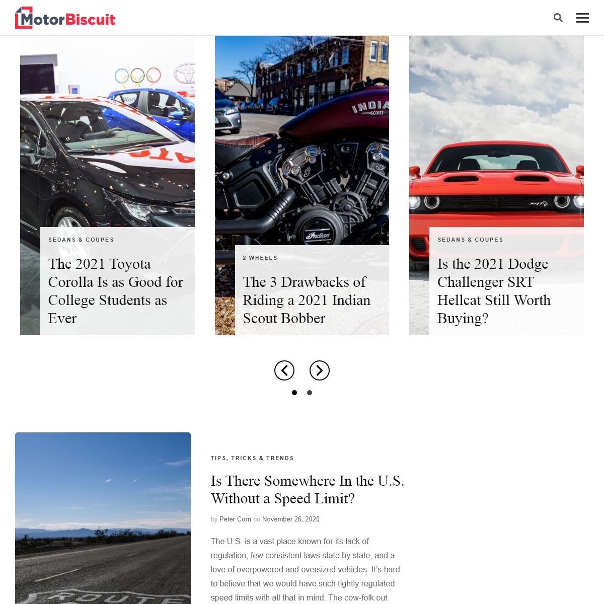 MotorBiscuit.com - Pure Autos