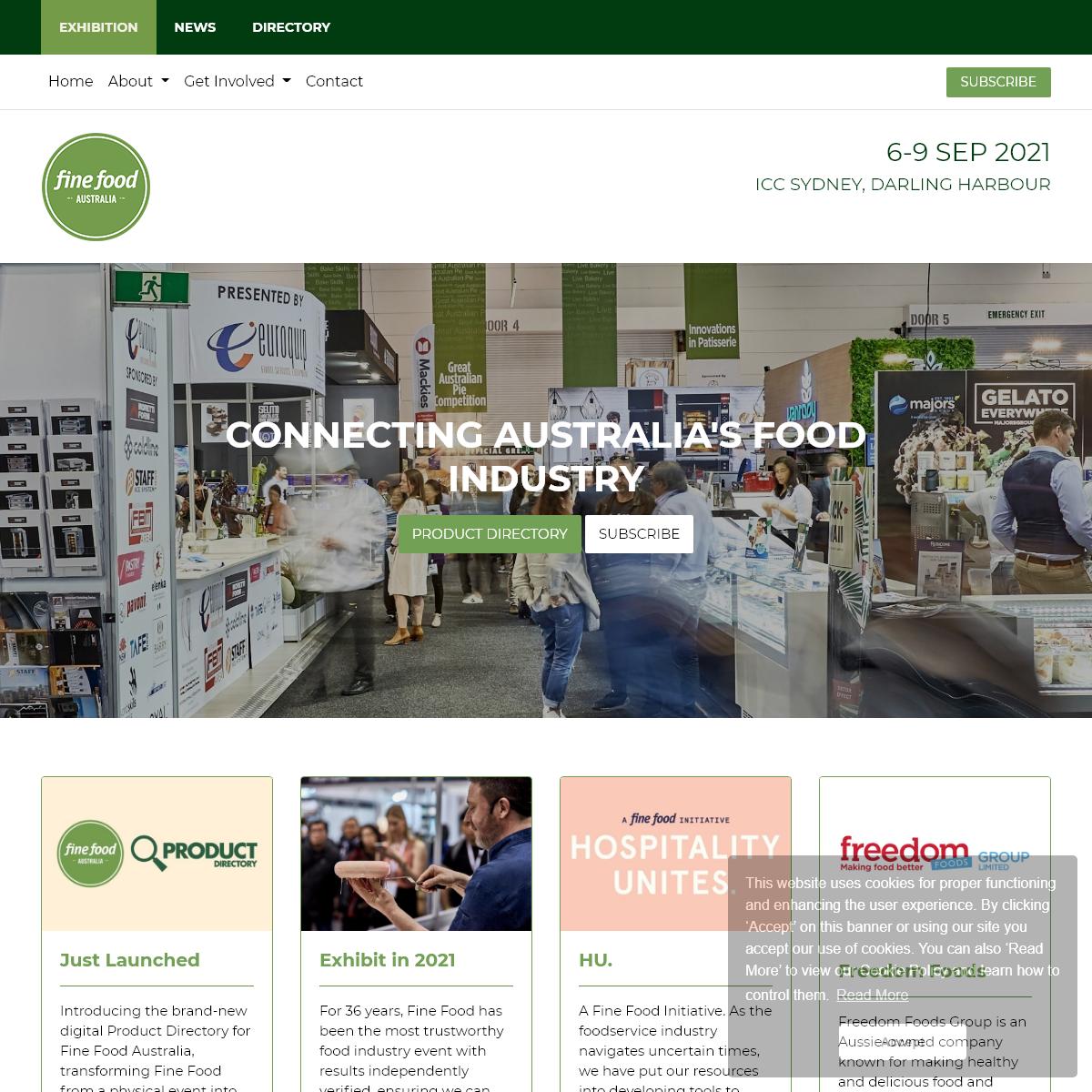 Home - Fine Food Australia