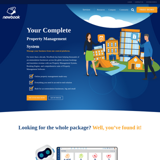 Your Complete Property Management System - NewBook