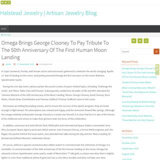 Halstead Jewelry - Artisan Jewelry Blog