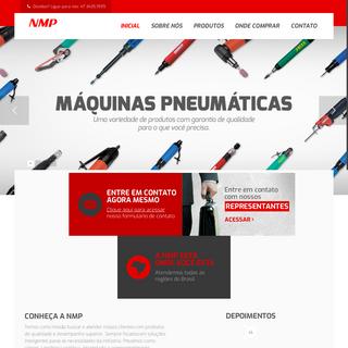 NMP – Fundada em Fevereiro de 1983, a NMP iniciou suas atividades como representante de uma grande fábrica de ferramentas pne