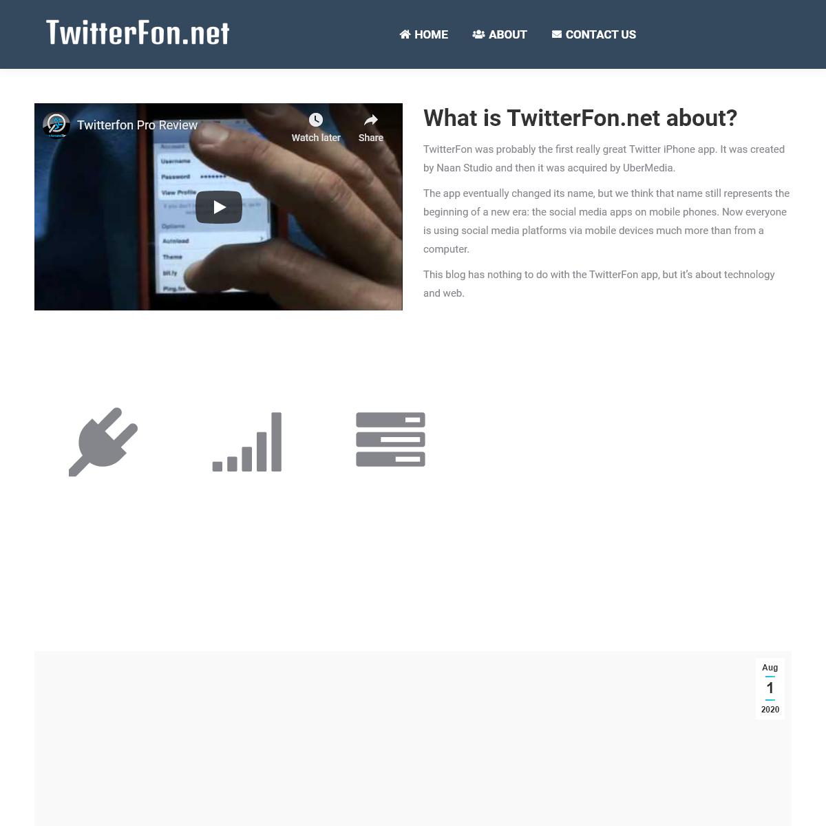 TwitterFon.net – Welcome to TwitterFon!
