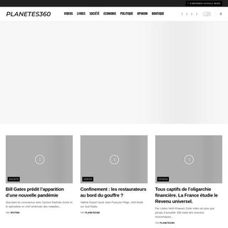 Planetes360, le média d'information indépendant en temps réel !