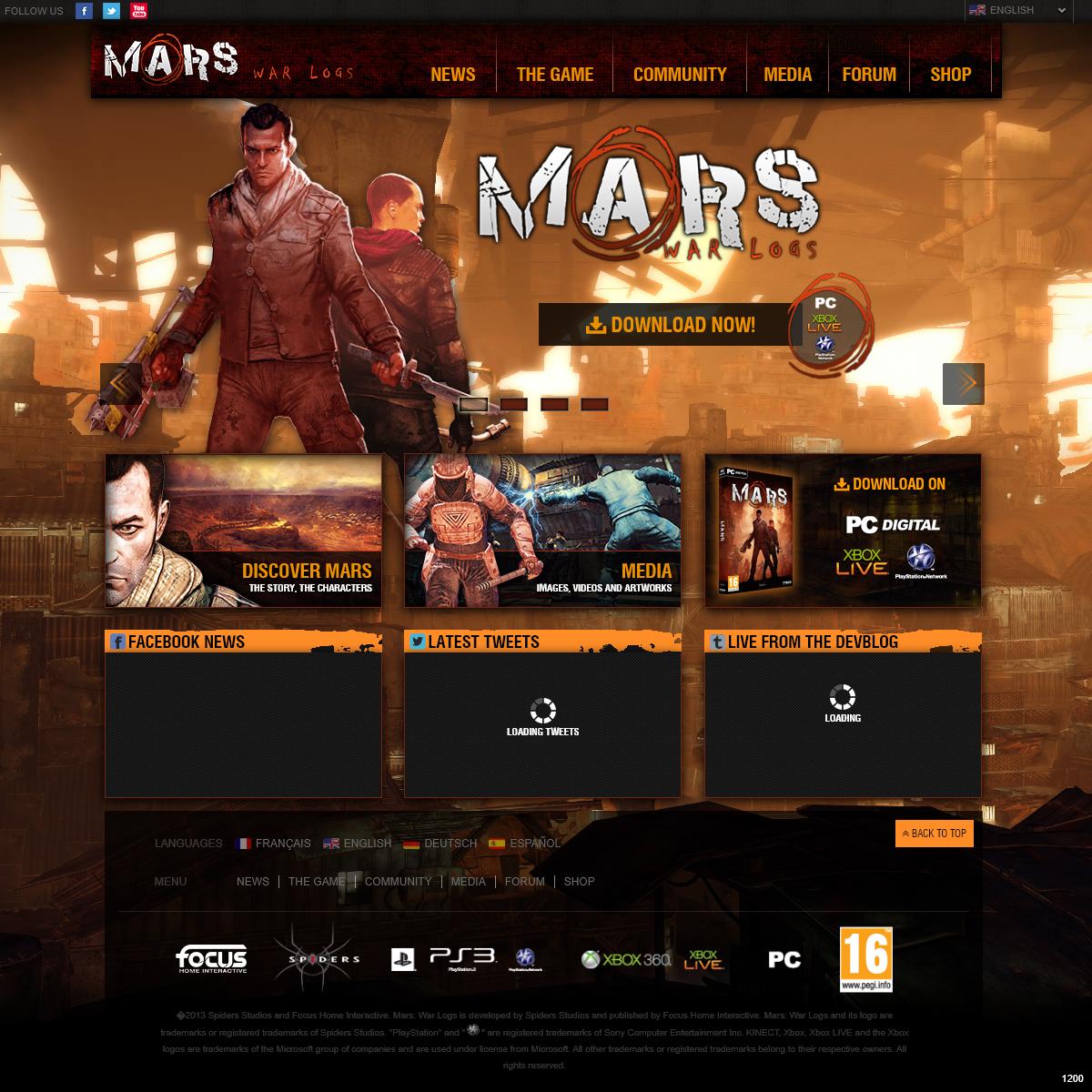Mars- War Logs