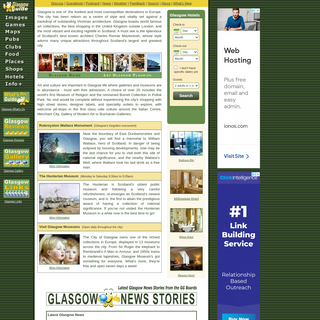 Glasgow Guide- Hotels and City Tourist Information Scotland, UK