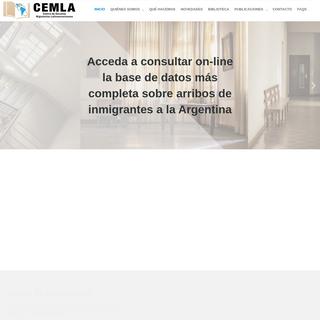 Inicio - CEMLA - Centro de Estudios Migratorios Latinoamericano