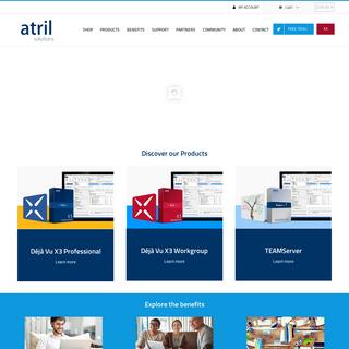 Déjà Vu- Get the original since 1993 - Atril Solutions