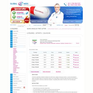 Colchicine 0.6 Mg Tablet Price