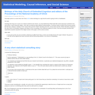 Statistical Modeling, Causal Inference, and Social Science