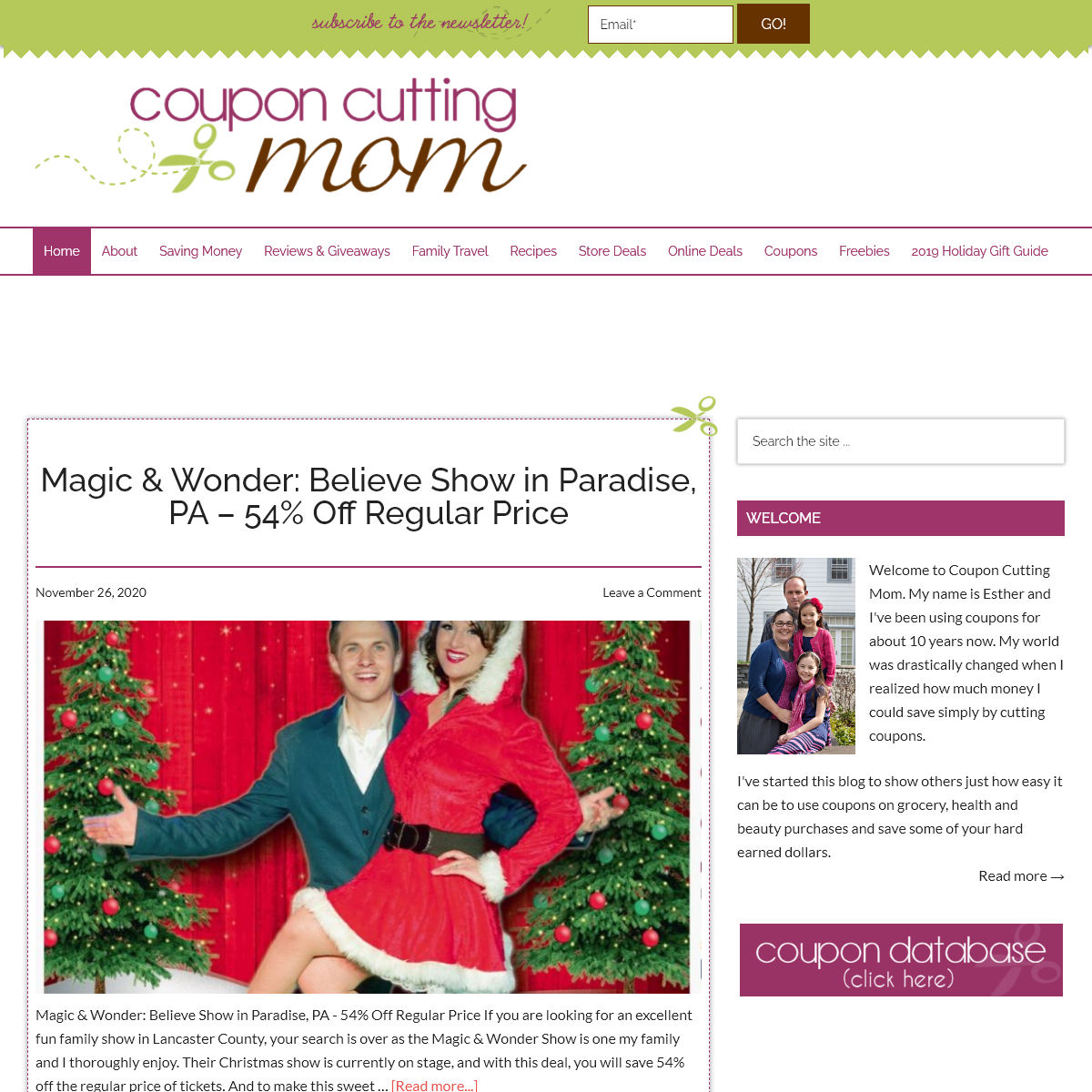 Coupon Cutting Mom - Deals at grocery and drug stores, freebies, coupons, recipes and more!