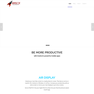 Air Display connects extra screens to mobile devices & computers. - Productivity apps for mobile and desktop