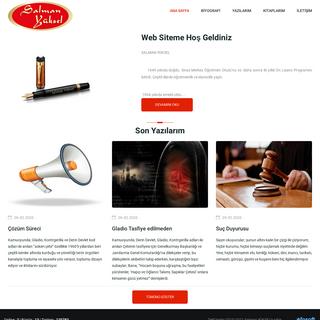 Salman YÜKSEL Kişisel Resmi Web Sitesi - Yazar, Öğretmen