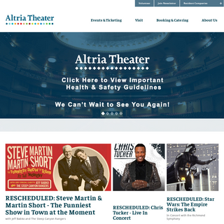 Altria Theater - Official Website