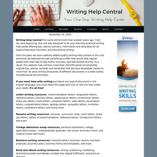 Writing Help Gateway For Letter Writing, Resume Writing & more!