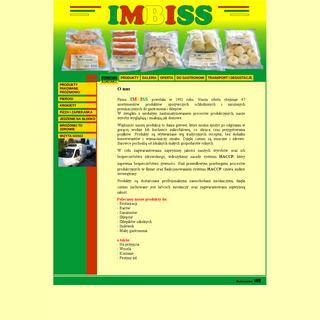 IMBISS- Producent wyrobów garmażeryjnych