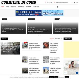 Corriere di Como – Quotidiano della città e della provincia