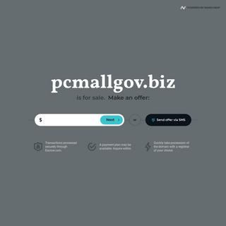 pcmallgov.biz is for sale