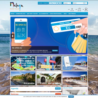 Malaga Turismo; web oficial del Área de Turismo del Ayuntamiento de Málaga