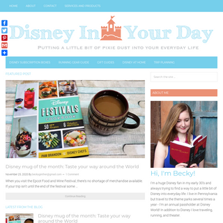 Disney in your Day - A blog all about Disney