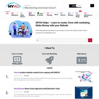 MYVU - Learn, Grow, Market & Make Money with Myvu Blog