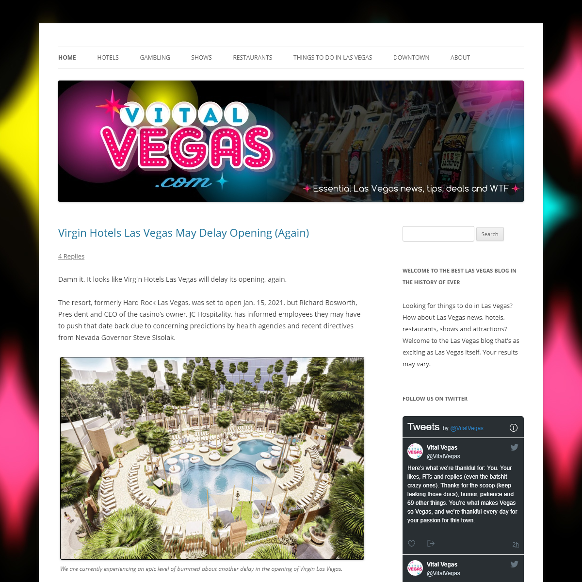 Vital Vegas - Essential Las Vegas News, Tips, Deals and WTF.