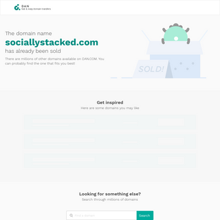 sociallystacked.com - Sold