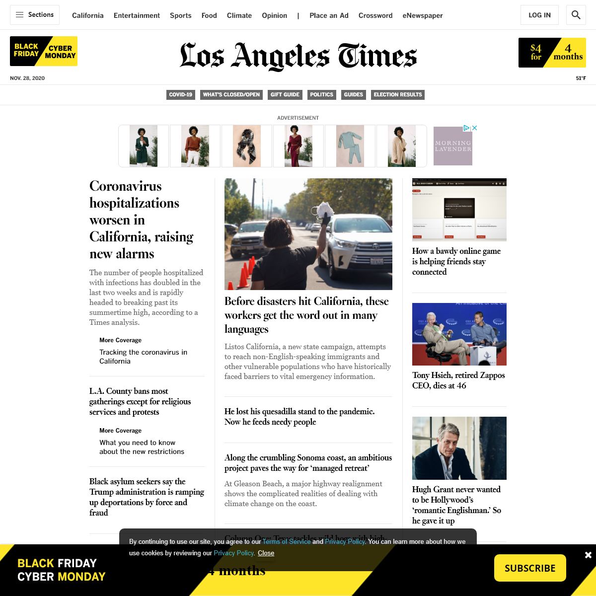 News from California, the nation and world - Los Angeles Times