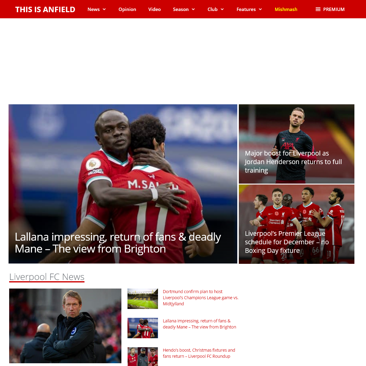 Liverpool FC News & LFC transfer rumours - This Is Anfield