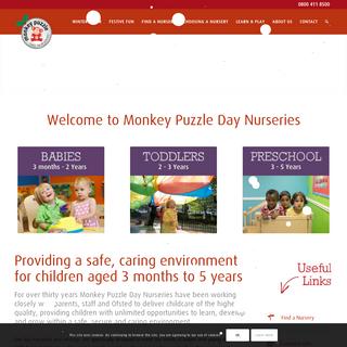 Monkey Puzzle Day Nurseries - Award Winning Childcare