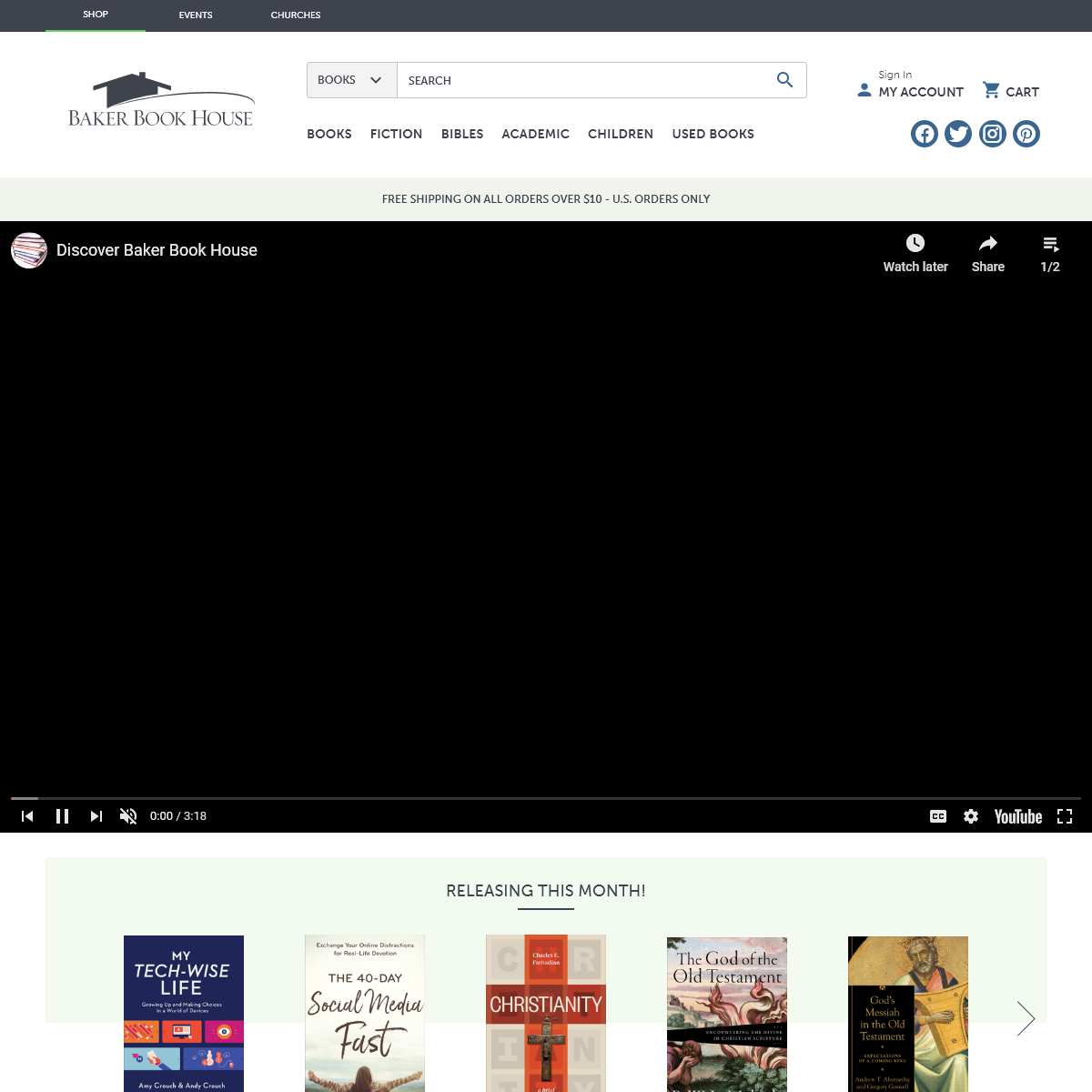 Baker Book House - New, used, and bargain Christian books