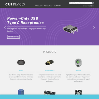 Electronic Components for the OEM - CUI Devices