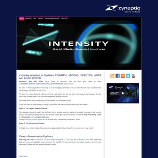 zynaptiq- news