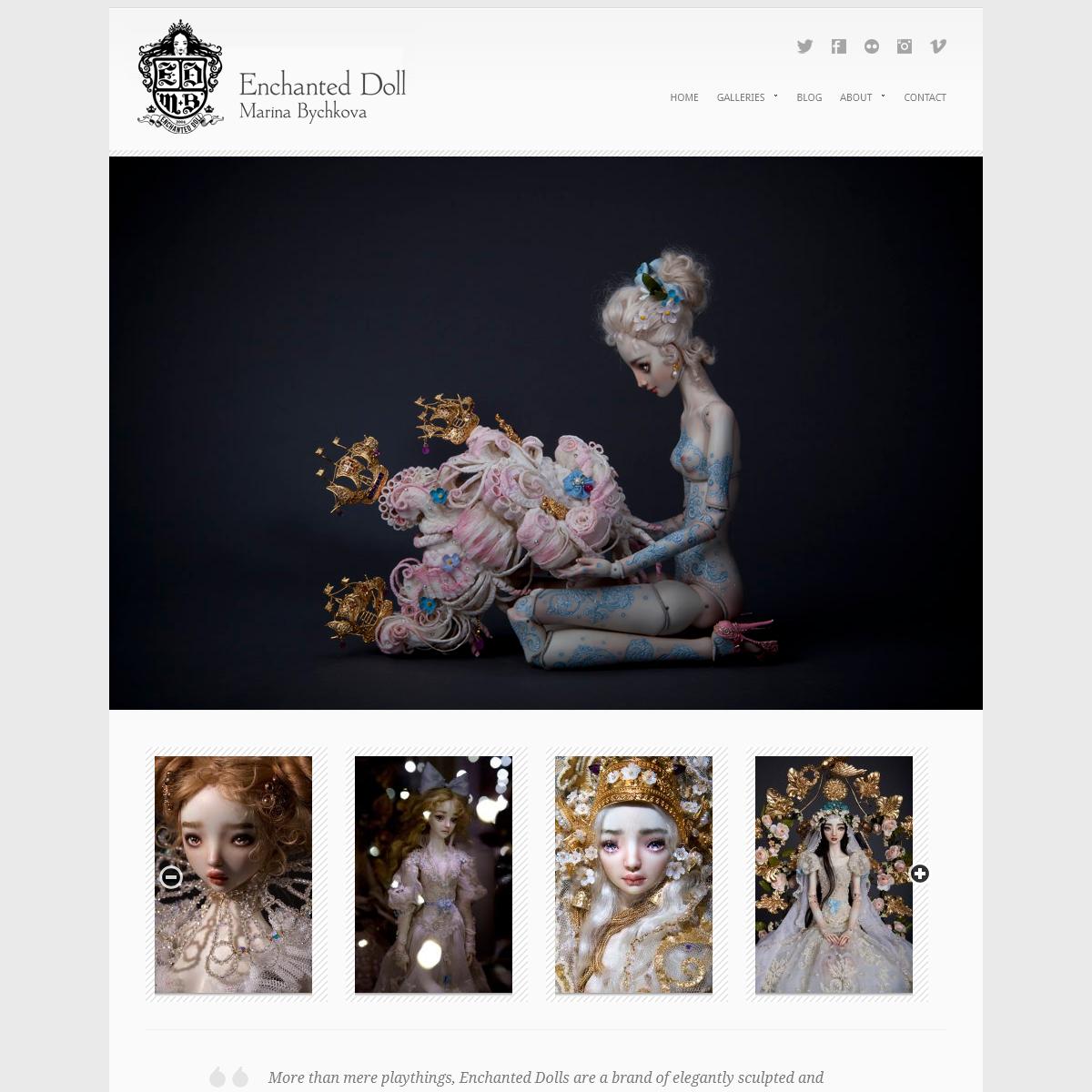 Enchanted Doll - By Marina Bychkova