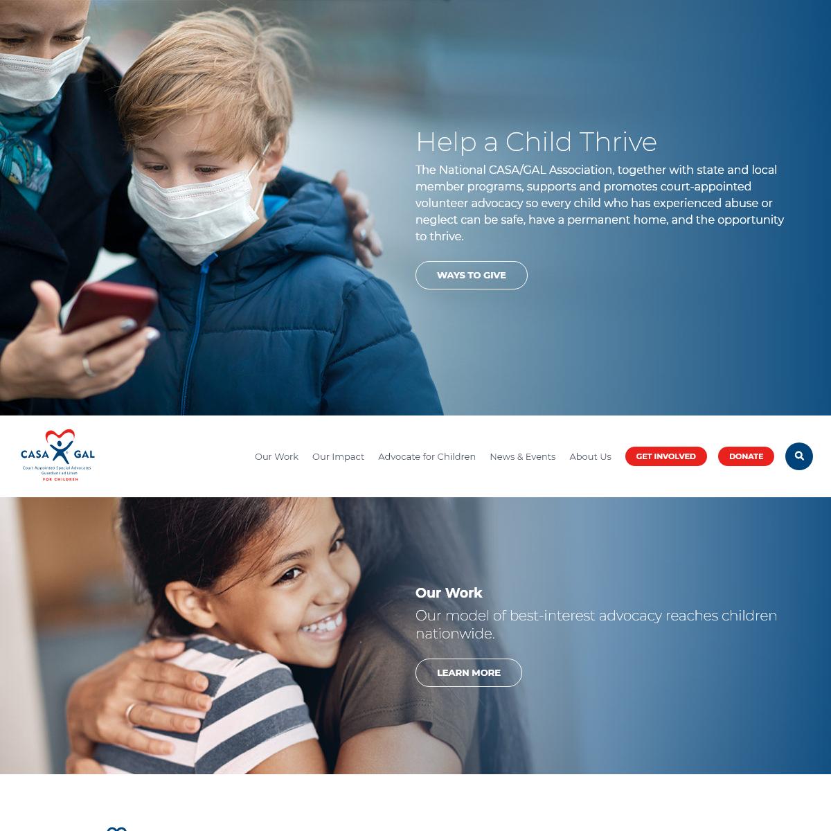 Home - National CASA-GAL Association for Children