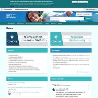 Zorg en Gezondheid- officiële site voor professionals in de gezondheidszorg - Zorg en Gezondheid