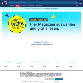 United Kiosk- Zeitschriften & Zeitungen - Abo, epaper & Flatrate