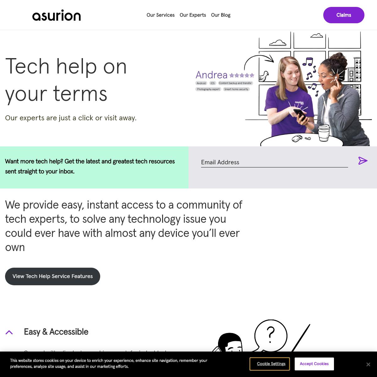 Expert Tech Help - Get Premier Tech Support - Asurion